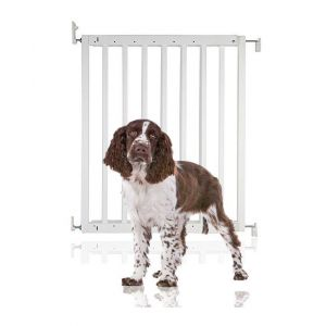 Bettacare Chunky Wooden Screw Fit Puppy Gate White 63.5cm - 105.5cm