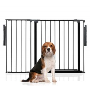 Bettacare Multi Panel Pet Barrier Black Up to 118cm