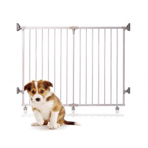 Bettacare Foldaway Pet Gate Grey 60cm - 125cm