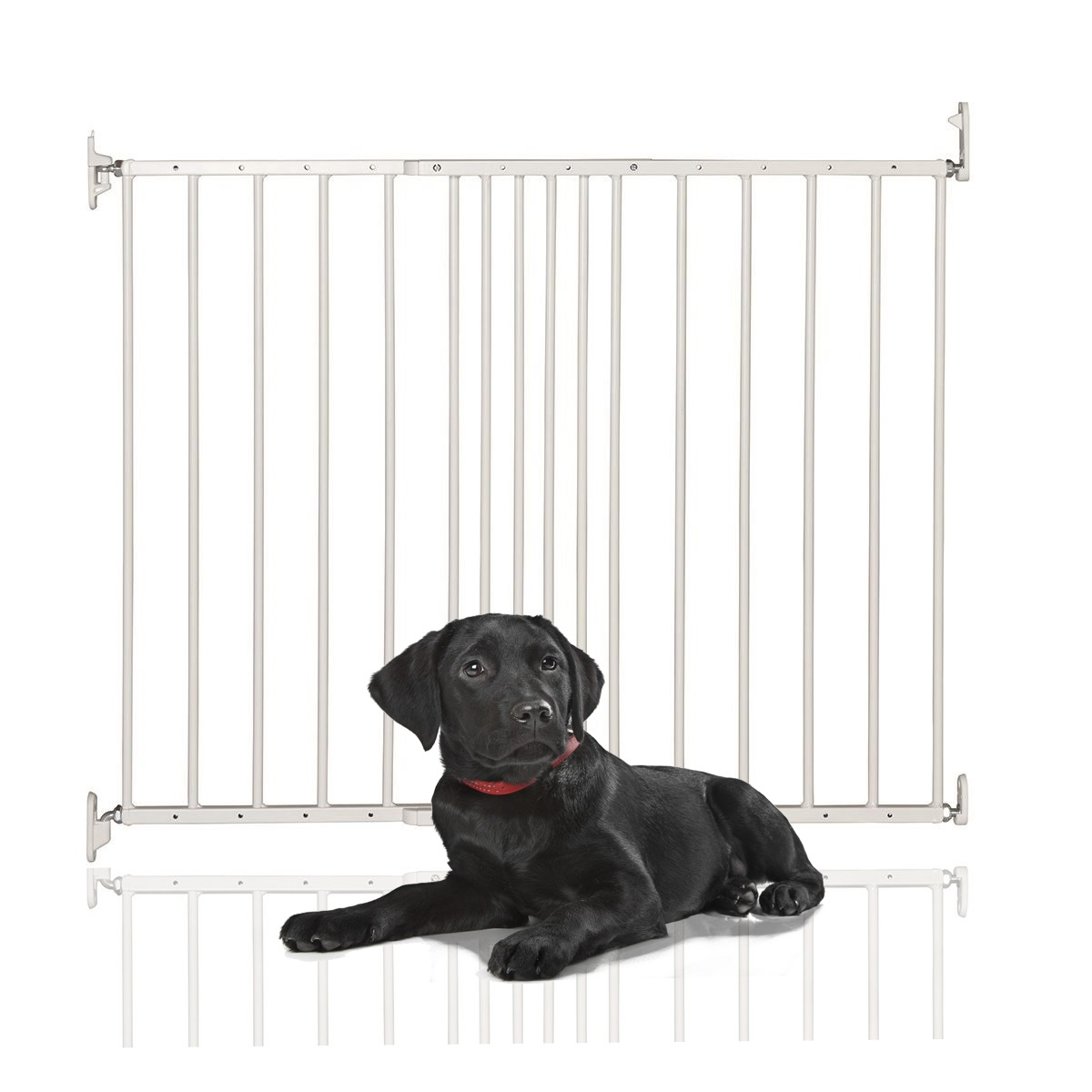 Bettacare Extending Metal Gate White 62.5cm - 106.8cm