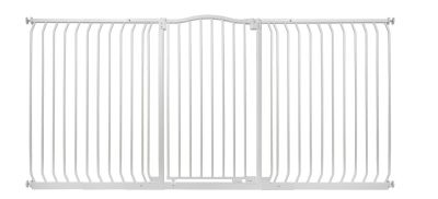 Bettacare Extra Tall Matt White Curved Top Pet Gate 197cm - 206cm