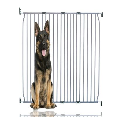 Bettacare Extra Tall Eco Screw Fit Pet Gate Grey 130cm - 140cm
