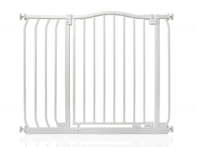Bettacare Matt White Curved Top Pet Gate 89cm - 98cm