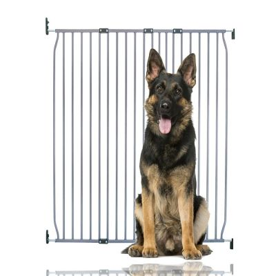 Bettacare Extra Tall Eco Screw Fit Pet Gate Grey 120cm - 130cm