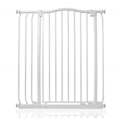 Bettacare Extra Tall Matt White Curved Top Pet Gate 80cm - 89cm