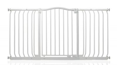 Bettacare Matt White Curved Top Pet Gate 143cm - 152cm