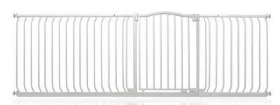 Bettacare Matt White Curved Top Pet Gate 225cm - 234cm