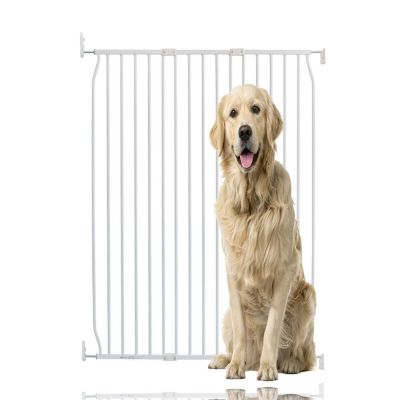 Bettacare Extra Tall Eco Screw Fit Pet Gate White 100cm - 110cm