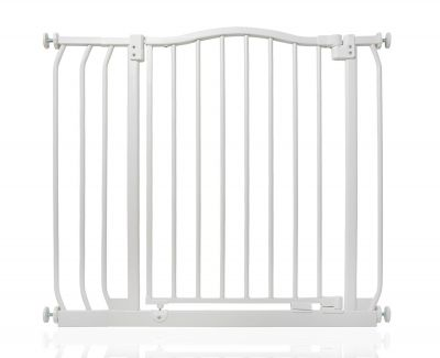 Bettacare Matt White Curved Top Pet Gate 80cm - 89cm