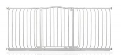 Bettacare Matt White Curved Top Pet Gate 170cm - 179cm