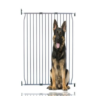 Bettacare Extra Tall Eco Screw Fit Pet Gate Grey 100cm - 110cm
