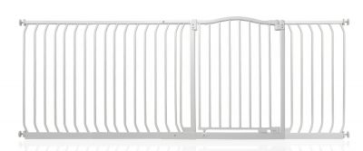 Bettacare Matt White Curved Top Pet Gate 198cm - 207cm