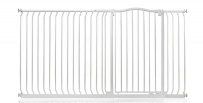 Bettacare Extra Tall Matt White Curved Top Pet Gate 189cm - 198cm