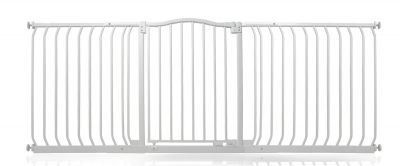 Bettacare Matt White Curved Top Pet Gate 188cm - 197cm