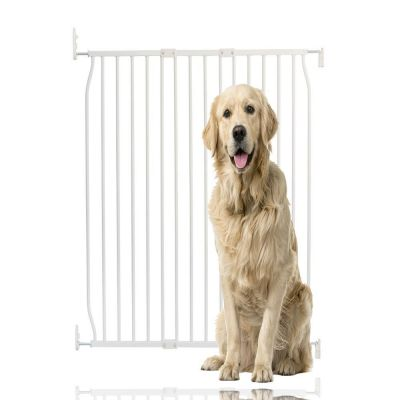 Bettacare Extra Tall Eco Screw Fit Pet Gate White 90cm - 100cm