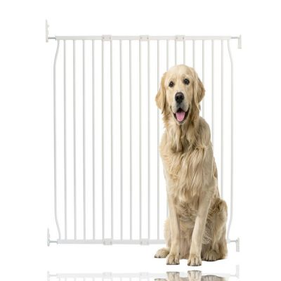 Bettacare Extra Tall Eco Screw Fit Pet Gate White 110cm - 120cm