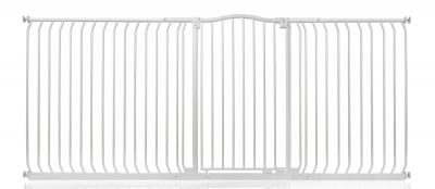 Bettacare Extra Tall Matt White Curved Top Pet Gate 225cm - 234cm