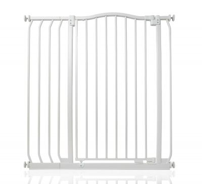 Bettacare Extra Tall Matt White Curved Top Pet Gate 89cm - 98cm
