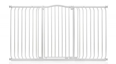Bettacare Extra Tall Matt White Curved Top Pet Gate 161cm - 170cm