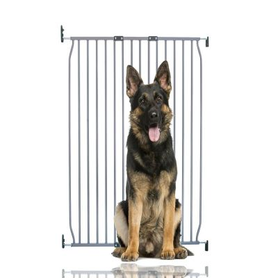 Bettacare Extra Tall Eco Screw Fit Pet Gate Grey 90cm - 100cm