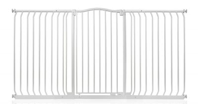 Bettacare Extra Tall Matt White Curved Top Pet Gate 179cm - 188cm
