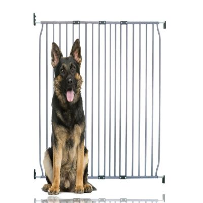 Bettacare Extra Tall Eco Screw Fit Pet Gate Grey 110cm - 120cm