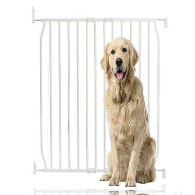 Bettacare Extra Tall Eco Screw Fit Pet Gate White 80cm - 90cm