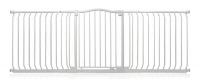Bettacare Matt White Curved Top Pet Gate 197cm - 206cm