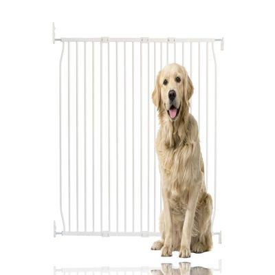 Bettacare Extra Tall Eco Screw Fit Pet Gate White 120cm - 130cm
