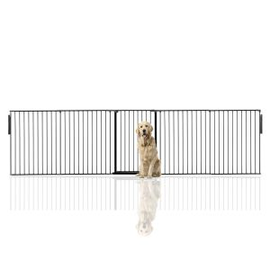 Bettacare Extra Tall Multi Panel Pet Barrier Black upto 360cm