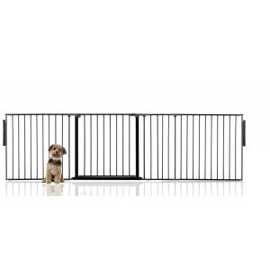 Bettacare Multi Panel Pet Barrier Black Up to 262cm