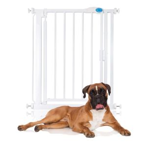 Bettacare Auto Close Pet Gate White Narrow 68.5cm - 75cm
