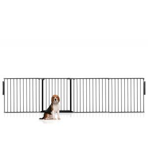 Bettacare Multi Panel Pet Barrier Black Up to 288cm