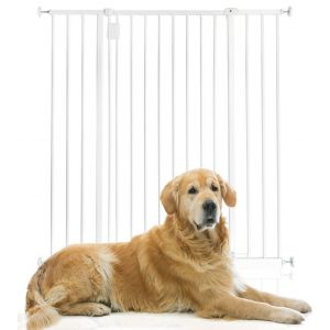 Bettacare Extra Tall Hallway Pet Gate White 97cm - 103cm