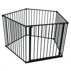 Bettacare Pet Pen Black Pentagon