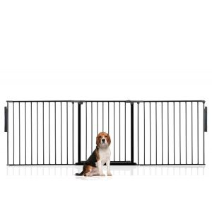 Bettacare Multi Panel Pet Barrier Black Up to 216cm