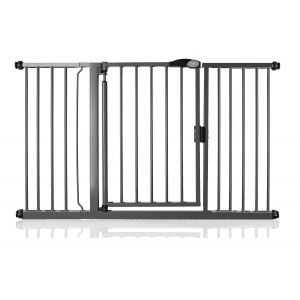 Bettacare Auto Close Slate Grey Pet Gate 139.8cm - 146.8cm