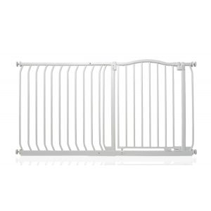 Bettacare Matt White Curved Top Pet Gate 134cm - 143cm