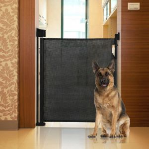 Bettacare Advanced Retractable Pet Gate Black