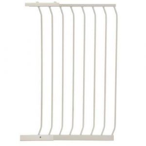 Extra Tall Arch Top Pressure Fit Pet Gate White Extension 63cm