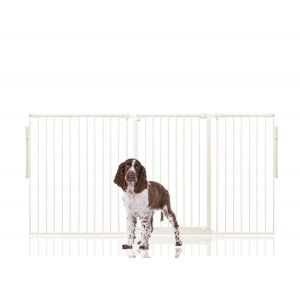 Bettacare Extra Tall Multi Panel Pet Barrier White upto 190cm