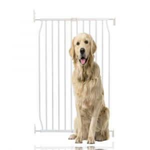 Bettacare Extra Tall Eco Screw Fit Pet Gate White 70cm - 80cm