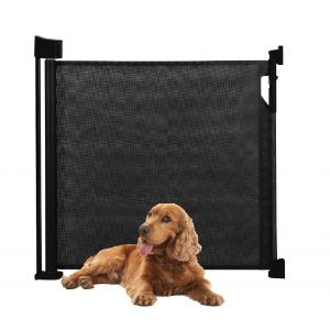 Bettacare Advanced Retractable Pet Gate Black 0cm - 140cm