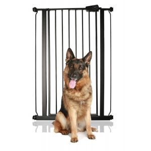 Bettacare Child and Pet Gate Matt Black 75cm - 83cm
