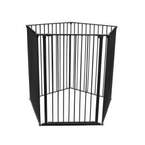 Bettacare Extra Tall Pet Pen Black Pentagon