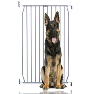Bettacare Extra Tall Eco Screw Fit Pet Gate Grey 70cm - 80cm