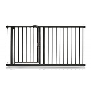 Bettacare Auto Close Matt Black Pet Gate 154.5cm - 161.2cm