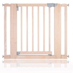 Bettacare Chunky Wooden Pressure Fit Pet Gate Natural 89cm - 97cm