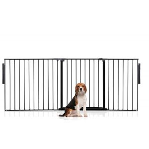 Bettacare Multi Panel Pet Barrier Black Up to 190cm