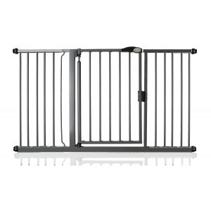 Bettacare Auto Close Slate Grey Pet Gate 147cm - 154cm